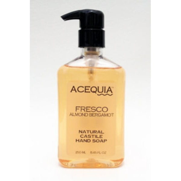 Acequia Fresco Almond Bergamot Natural Castile Hand Soap