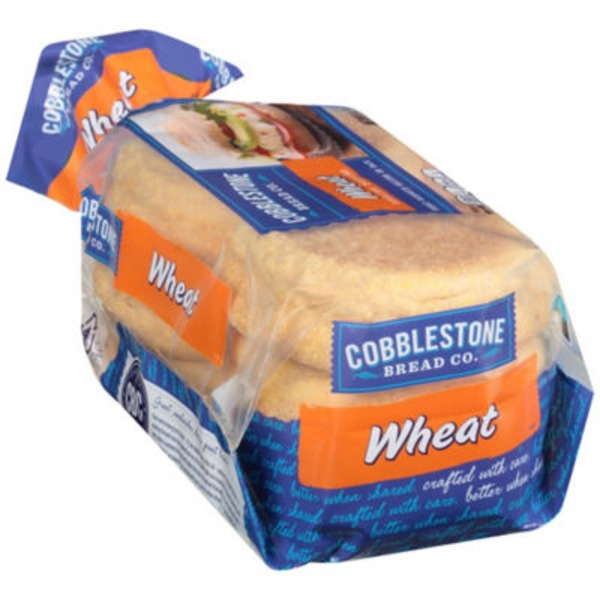 Cobblestone Mill Wheat English Muffins