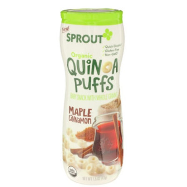 Sprouts Maple Cinnamon Puffs