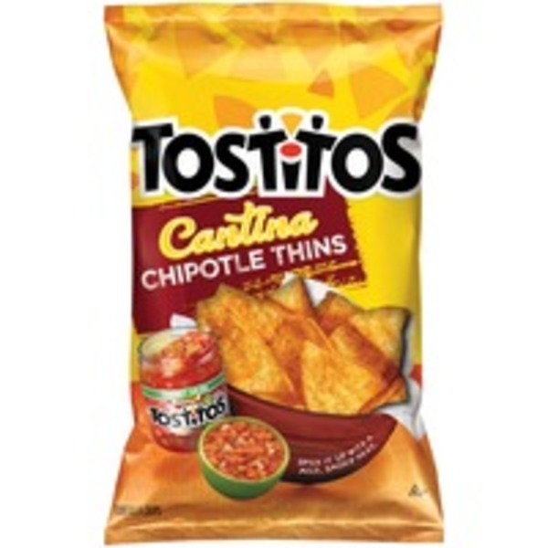 Tostitos Cantina Chipotle Thins Corn Tortilla Chips