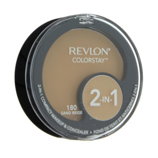Revlon Colorstay 2-in-1 Compact Makeup And Concealer, Sand Beige