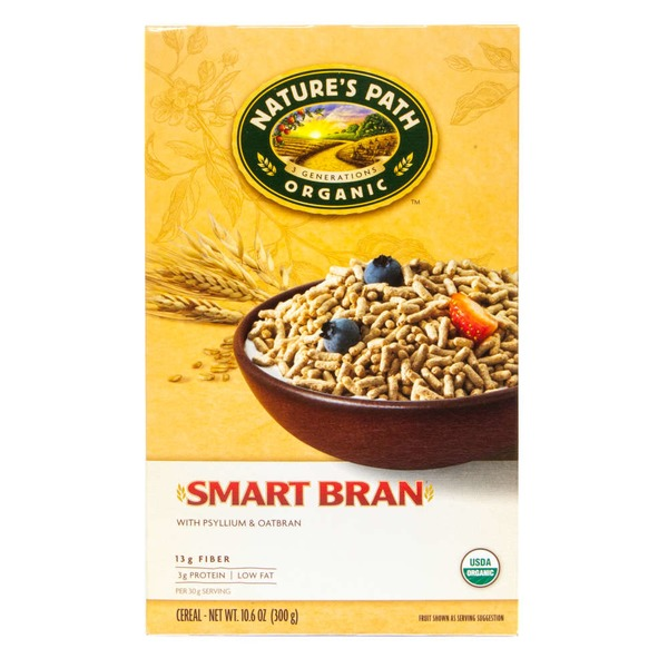 Nature's Pride Nature's Path Organic Smart Bran with Psyllium & Oatbran
