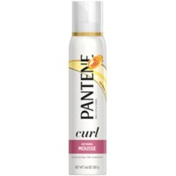 Pantene Curl Defining Pantene Curl Perfection Defining Mousse 6.6 oz  Female Hair Care