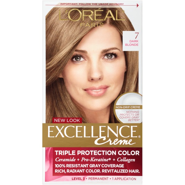 Excellence Creme 7 Dark Blonde Hair Color