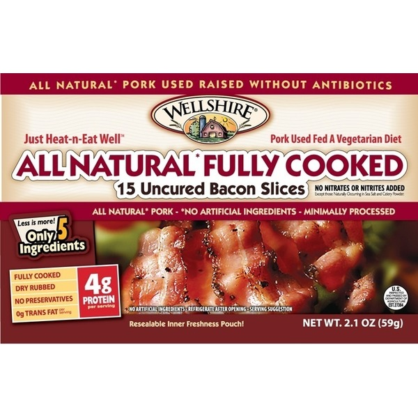 Wellshire Farms Fully Cooked Bacon