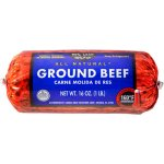 90% Lean 10%Fat Ground Beef Roll, 1lb.