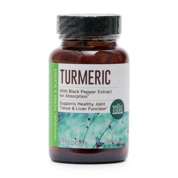 Whole Foods Market Turmeric Herbal Supplement