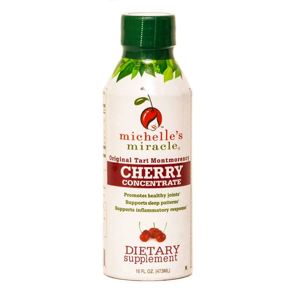 Michelle's Miracle Cherry Works Tart Cherry Concentrate Montmorency