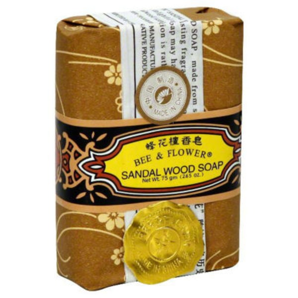 Bee & Flower Sandalwood Soap