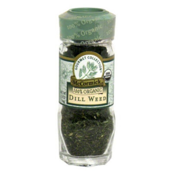 McCormick Gourmet Collection Organic Dill Weed