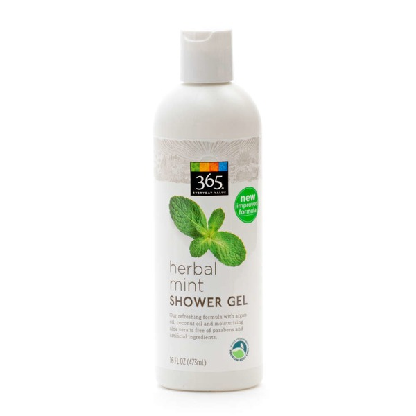 365 Herbal Mint Shower Gel