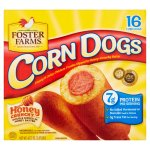 Foster Farms Corn Dogs Honey Crunchy Flavor - 16 CT