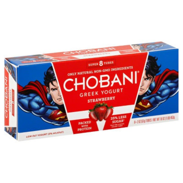 Chobani Strawberry Low-Fat Greek Yogurt