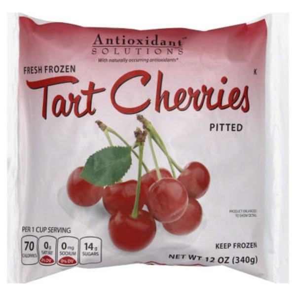 Antioxidant Solutions Tart Cherries, Pitted
