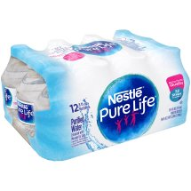 Nestle Pure Life Purified Water, 8 Fl Oz, 12 Count