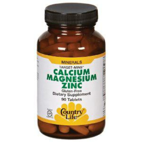 Country Life Target Mins Calcium Magnesium Zinc Tablets