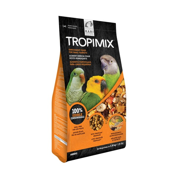 Hari Tropimix Enrichment Food for Small Parrots