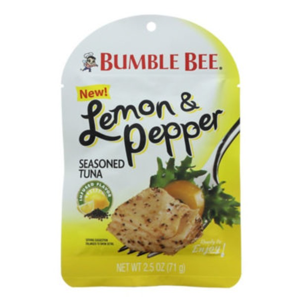 Bumble Bee Ready To Eat Lemon & Pepper Seasoned Tuna