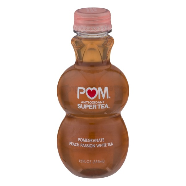 Pom Antioxidant Super Tea Pomegranate Peach Passion White Tea