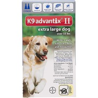 K9 Advantix Ii Extra Large Dog Repels & kills Tick Flea & Mosquitoes