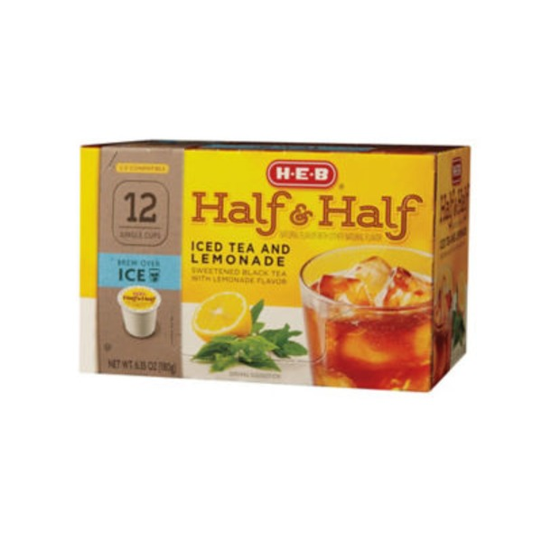 H-E-B Half & Half Iced Tea Single Serve