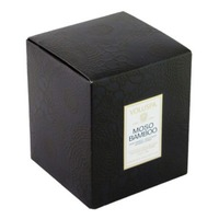 Voluspa Japonica Collection, Moso Bamboo Scalloped Edge Glass Candle