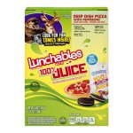 Lunchables Deep Dish Pizza with Pepperoni with 100% Juice, 4.0 OZ
