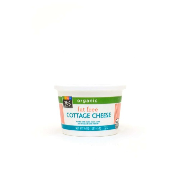 365 Organic Fat Free Cottage Cheese