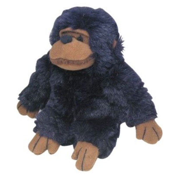 Multipet Look Who's Talking Chimp 5'' Plush Toy