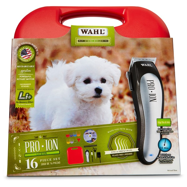 Wahl Pro Ion Rechargeable Pet Clipper Kit