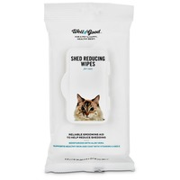 Pet Lock Plus Shed Reducing Wipes for Cats
