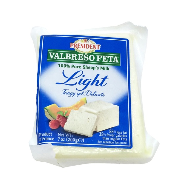 Valbreso Feta Light Tangi yet Delicate