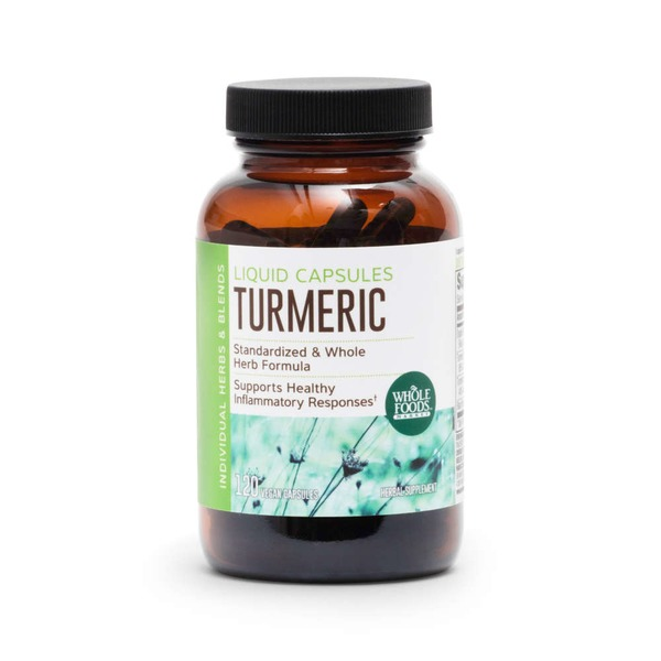 Whole Foods Market Turmeric Liquid Capsules