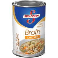 Swanson's 100% Natural Chicken Broth