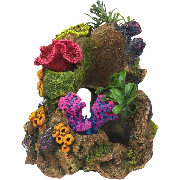 Rock Garden Resin Aquarium Coral Garden