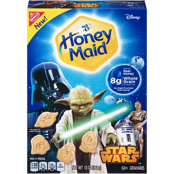Honey Maid Star Wars Honey Grahams