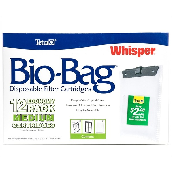 Tetra 12 Pack Medium Biobag Cart