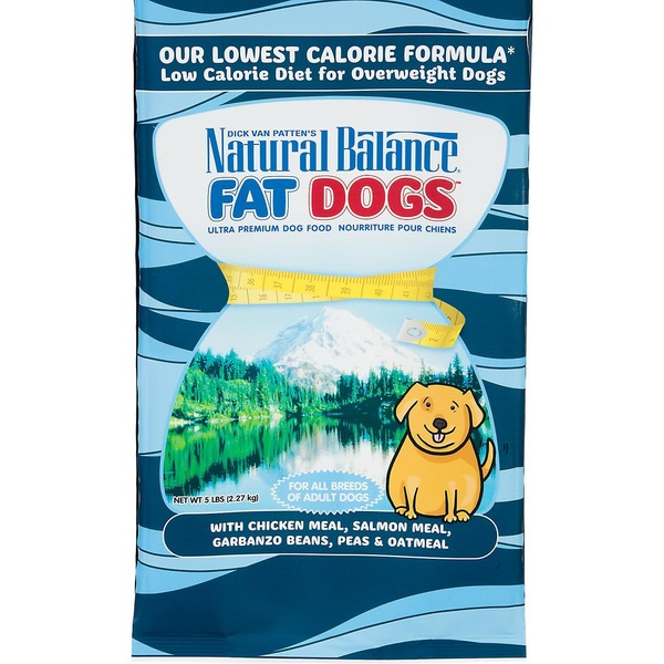 Natural Balance Dog Food, Dry, Fat Dogs, Bag