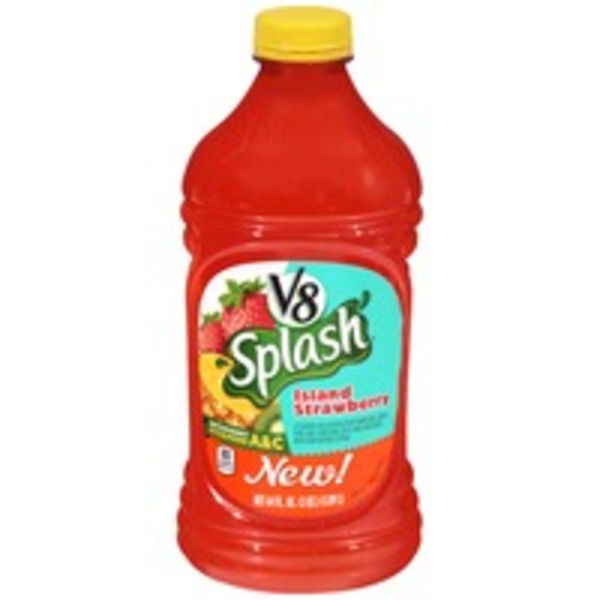 V8 Splash Island Strawberry Juice Drink