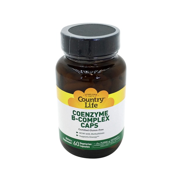 Country Life Coenzyme B Complex Vegetarian