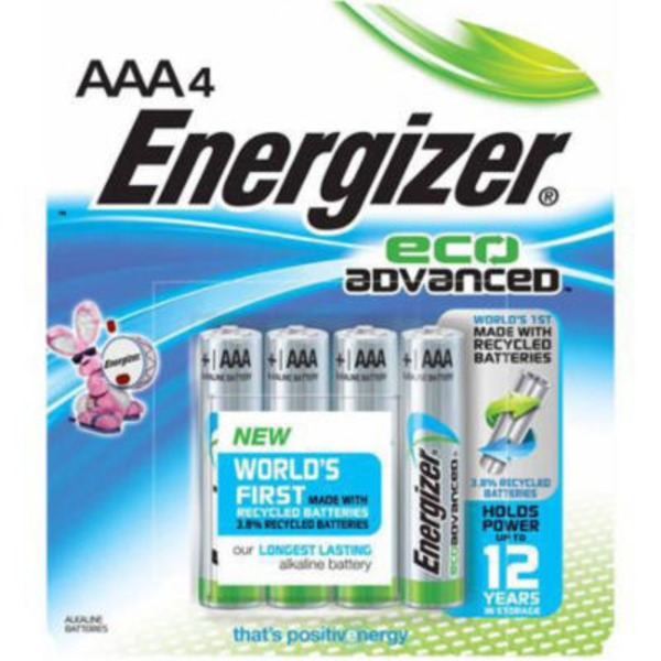 Energizer AAA Eco Advanced Alkaline Batteries