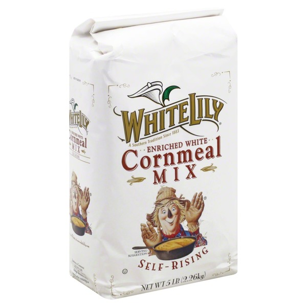 White Lily Cornmeal Mix, Self-Rising, Enriched White