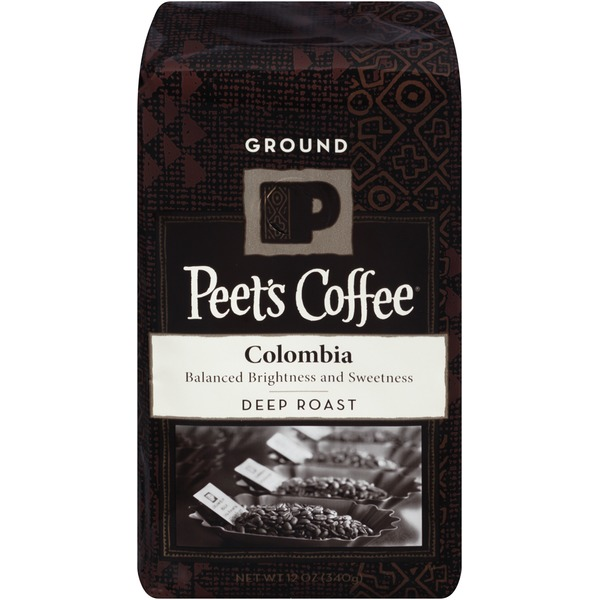 Peet's Coffee & Tea Colombia Deep Roast Ground Coffee