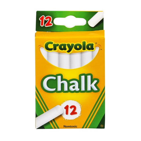 Crayola Chalk - 12 CT
