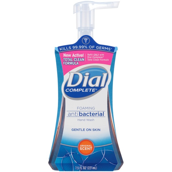 Dial Foaming Hand Wash Antibacterial Original Scent Foaming Hand Wash