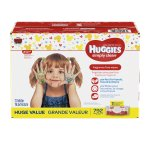 Huggies Simply Clean Unscented Baby Wipes, 11 packs of 72 (792 ct)