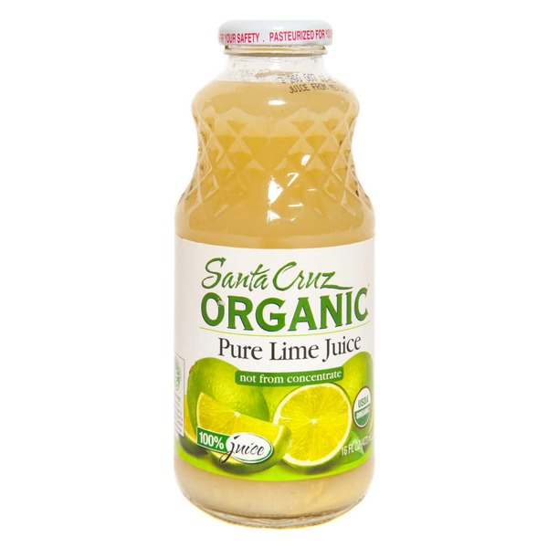 Santa Cruz Organics Pure Lime Juice