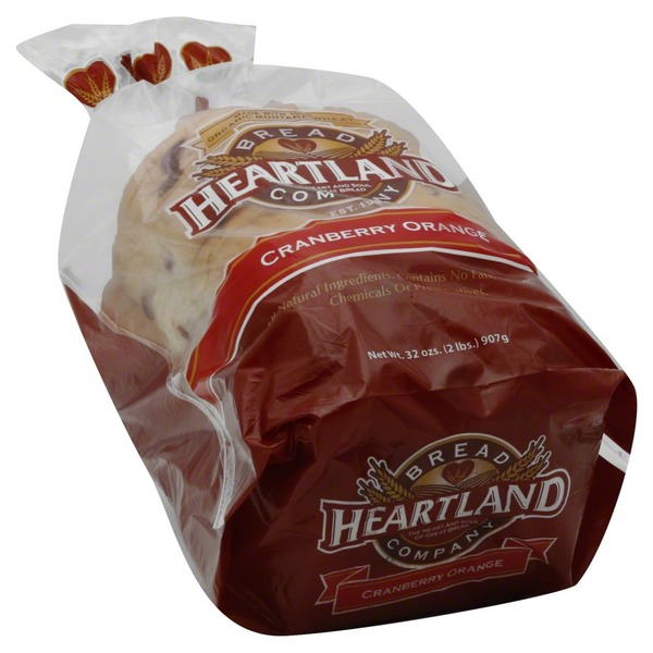 Heartland Bread Company Cranberry Orange Bread