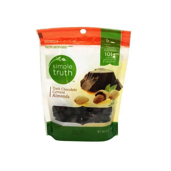 Simple Truth Organic Dark Chocolate Covered Almonds