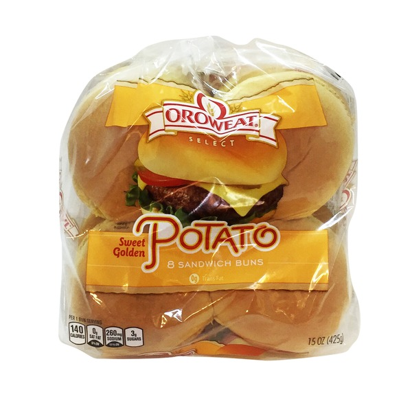 Brownberry/Arnold/Oroweat Country Potato Sliced Buns - 8 CT